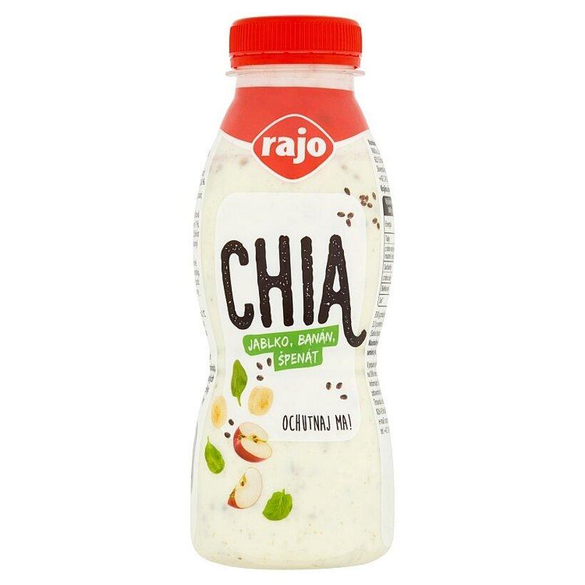 Rajo Chia jogurtový nápoj jablko, banán, špenát 330 g