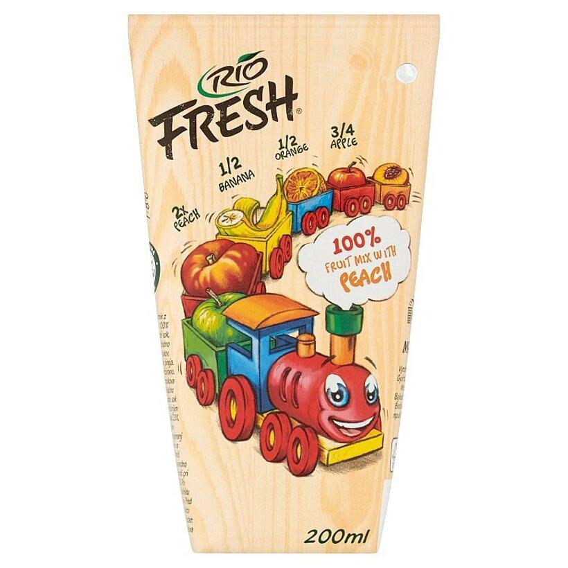 RIO FRESH Ovocný mix s broskyňami 200 ml