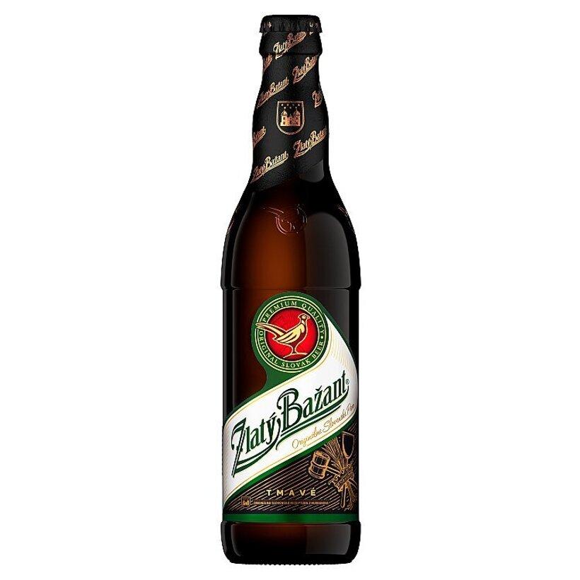 Zlatý Bažant Tmavé výčapné pivo 500 ml