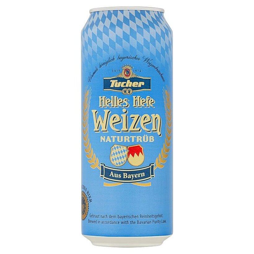 Tucher Svetlé kvasinkové pšeničné pivo 0,5 l