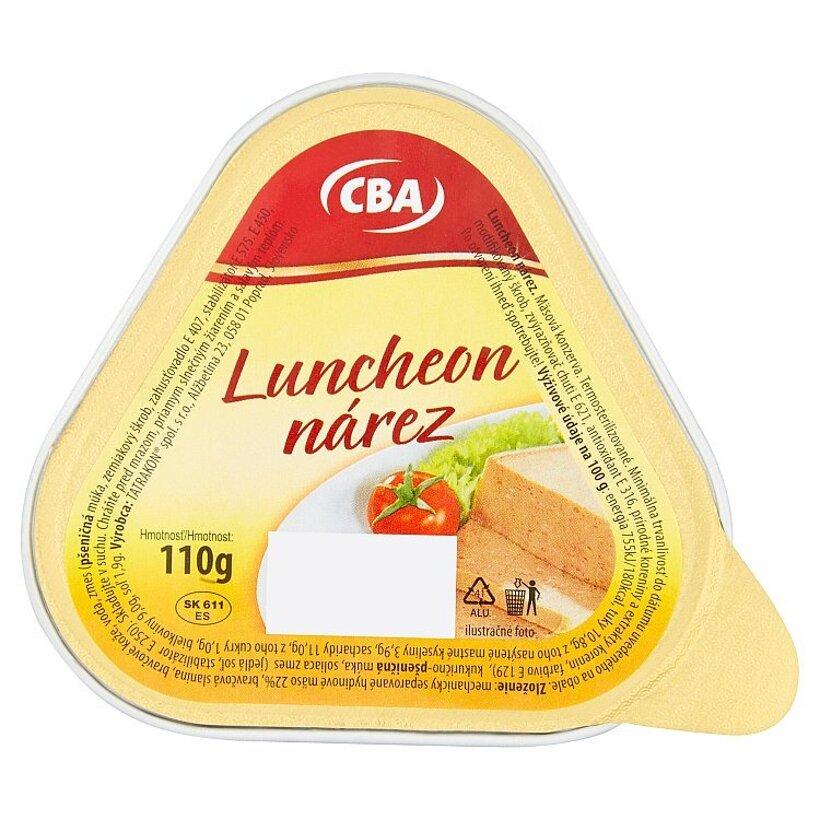 CBA Luncheon nárez 110 g