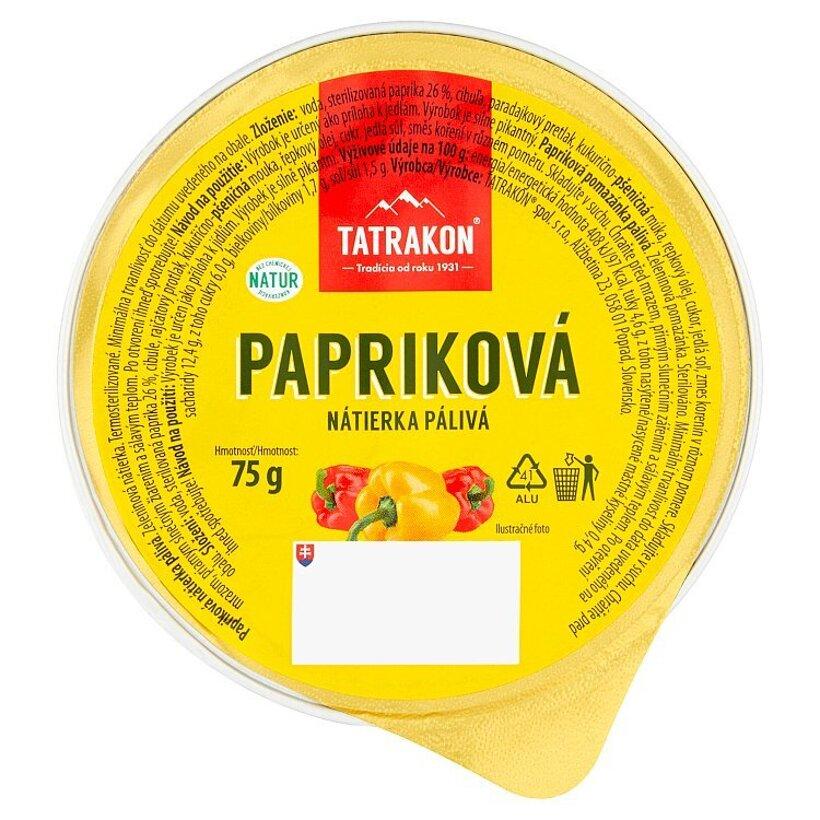 Tatrakon Papriková nátierka pálivá 75 g