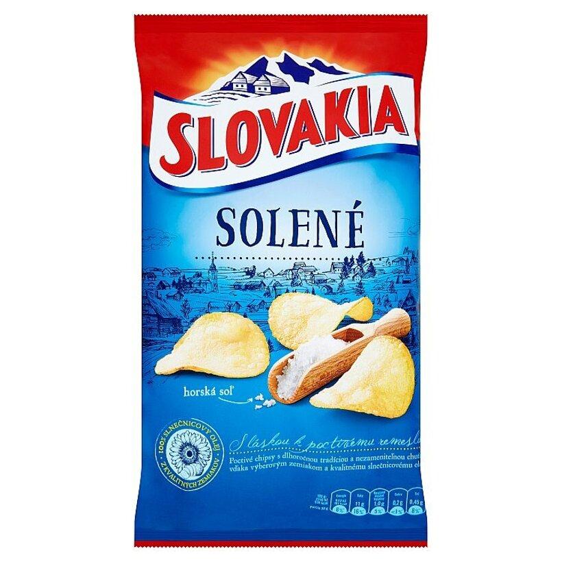 Slovakia Chips Solené 140 g