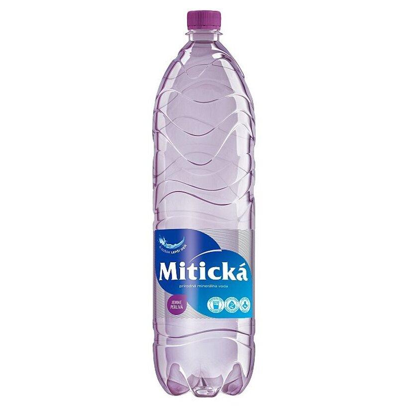 Mitická Prírodná minerálna voda jemne perlivá 1,5 l