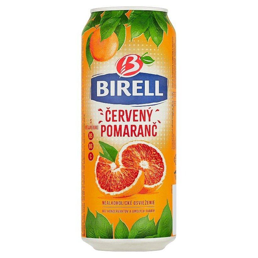 Birell Červený pomaranč miešaný nealkoholický nápoj 0,5 l