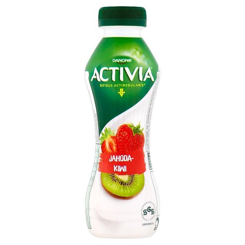 Danone Activia Jahoda - kiwi jogurtový nápoj 310 g