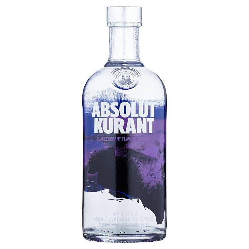 Absolut Kurant Vodka s Ríbezľovou Príchuťou 700 ml