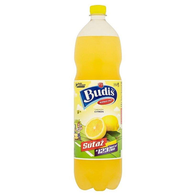 Budiš S príchuťou citrón 1,5 l