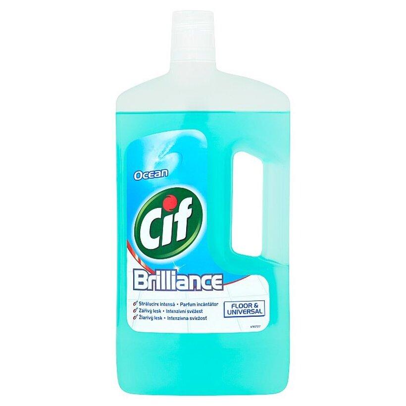 Cif Brilliance Ocean čistiaci prípravok na podlahy a umývateľné povrchy 1 l