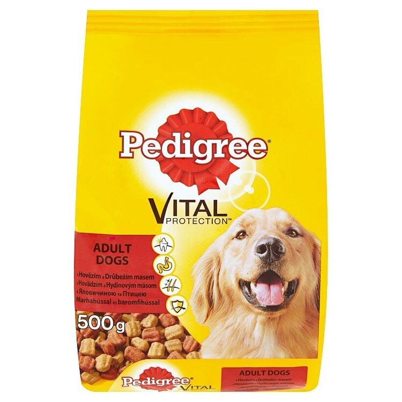 Pedigree Vital Protection Hovädzie mäso s hydinovým kompletné krmivo pre dospelých psov 500 g