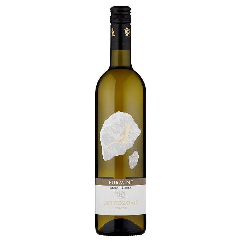 Ostrožovič Furmint akostné odrodové víno s prívlastkom neskorý zber biele suché 0,75 l