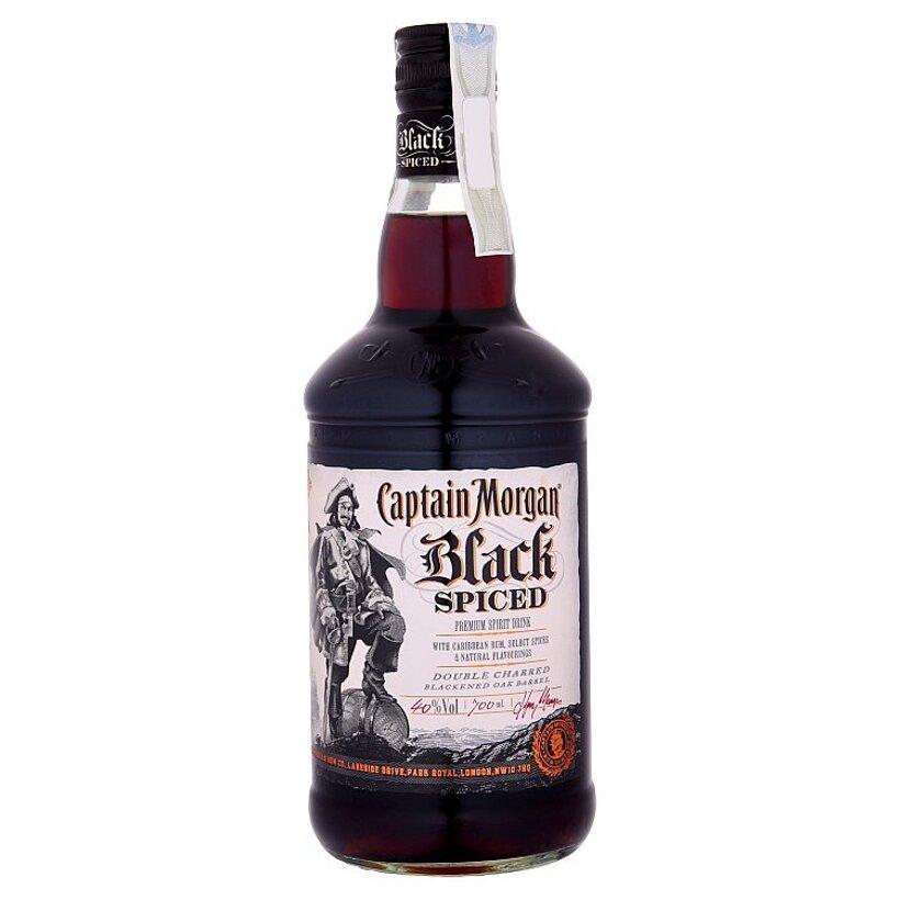 Captain Morgan Black Spiced liehovina 700 ml