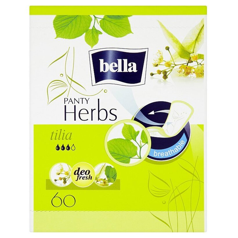 Bella Herbs Tilia priedušné slipové vložky 60 ks
