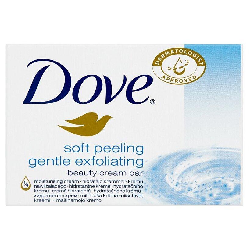 Dove Soft peeling gentle exfoliating krémová tableta na umývanie 100 g
