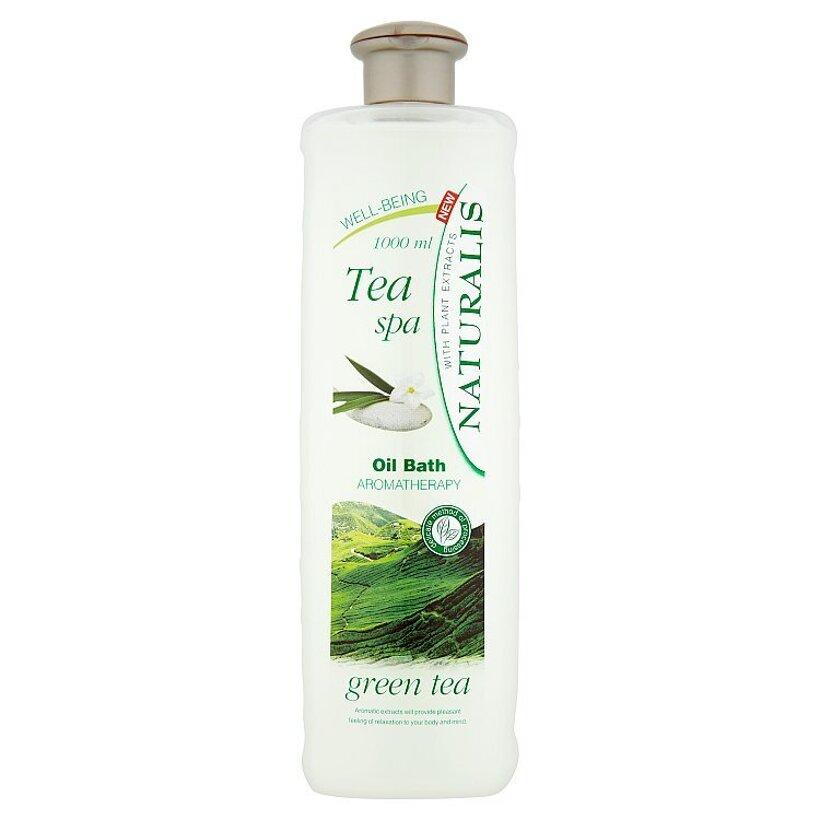 Naturalis Tea spa olejový kúpeľ zelený čaj 1000 ml