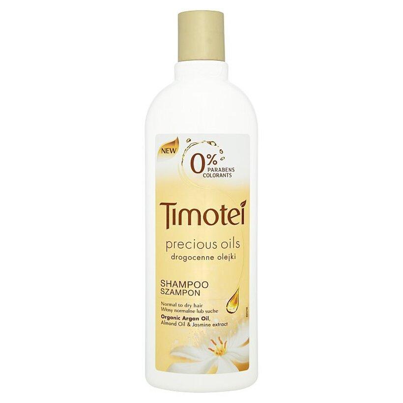 Timotei Precious oils šampón na normálne až suché vlasy 400 ml