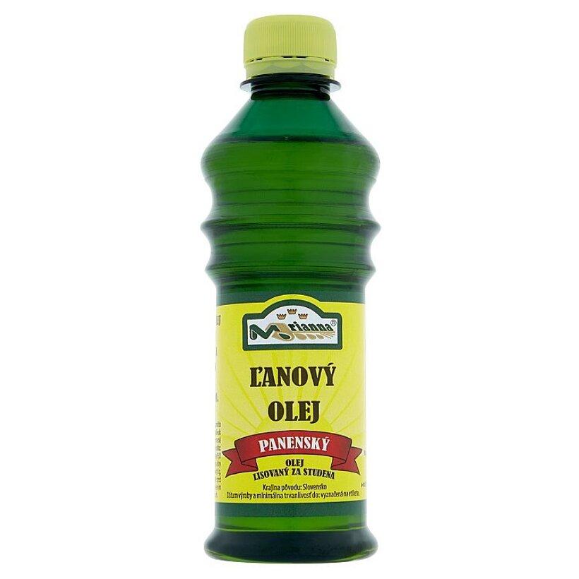 Marianna Panenský ľanový olej lisovaný za studena 250 ml
