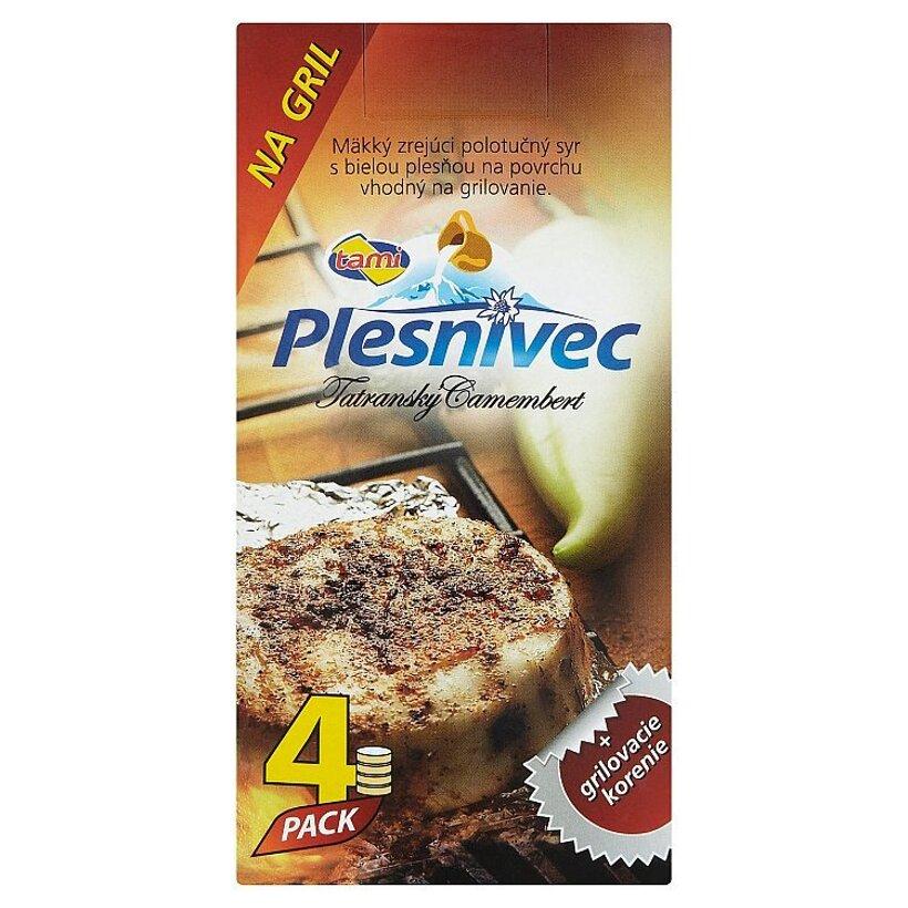 Tami Plesnivec Tatranský camembert syr na grilovanie s korením 4 x 80 g