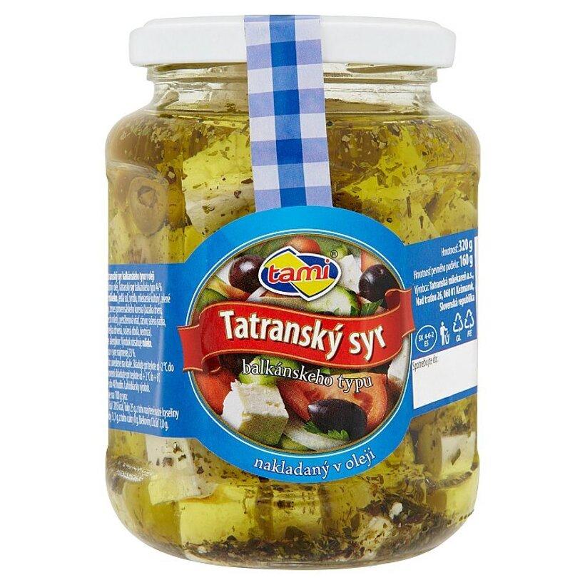 Tami Tatranský syr balkánskeho typu nakladaný v oleji 320 g