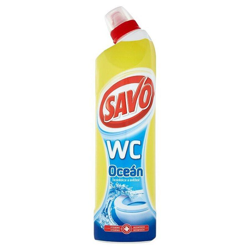 Savo Wc Oceán tekutý čistiaci a dezinfekčný prípravok 750 ml