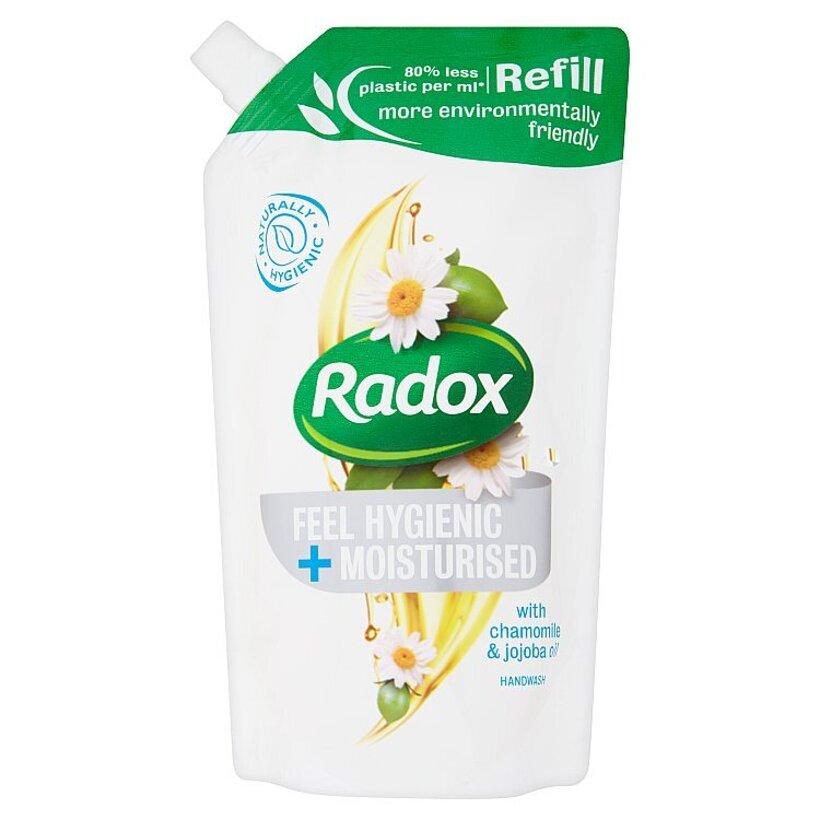 Radox Feel hygienic + moisturised tekuté mydlo náhradná náplň 500 ml