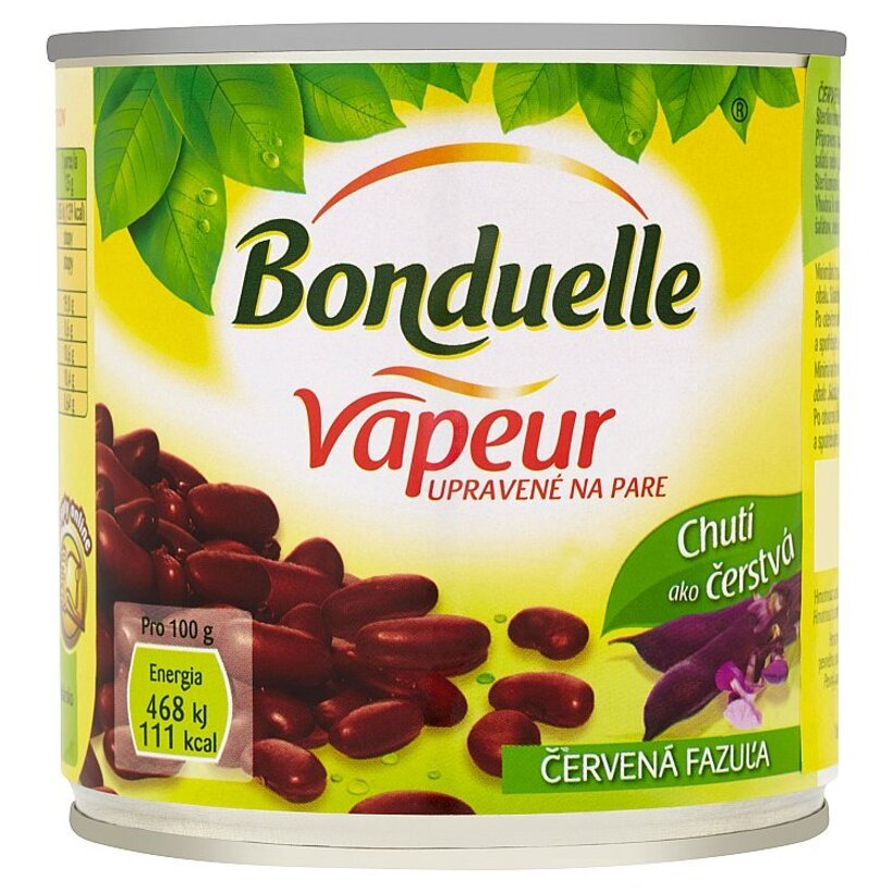 Bonduelle Vapeur Červená fazuľa 310 g