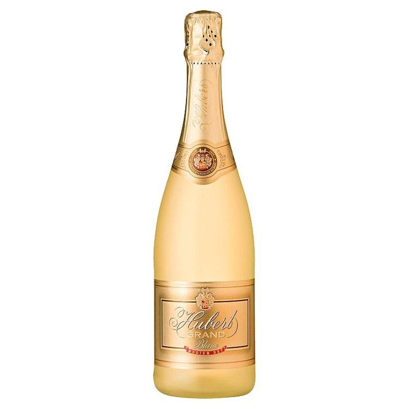 Hubert Grand Akostné šumivé víno biele polosuché 0,75 l