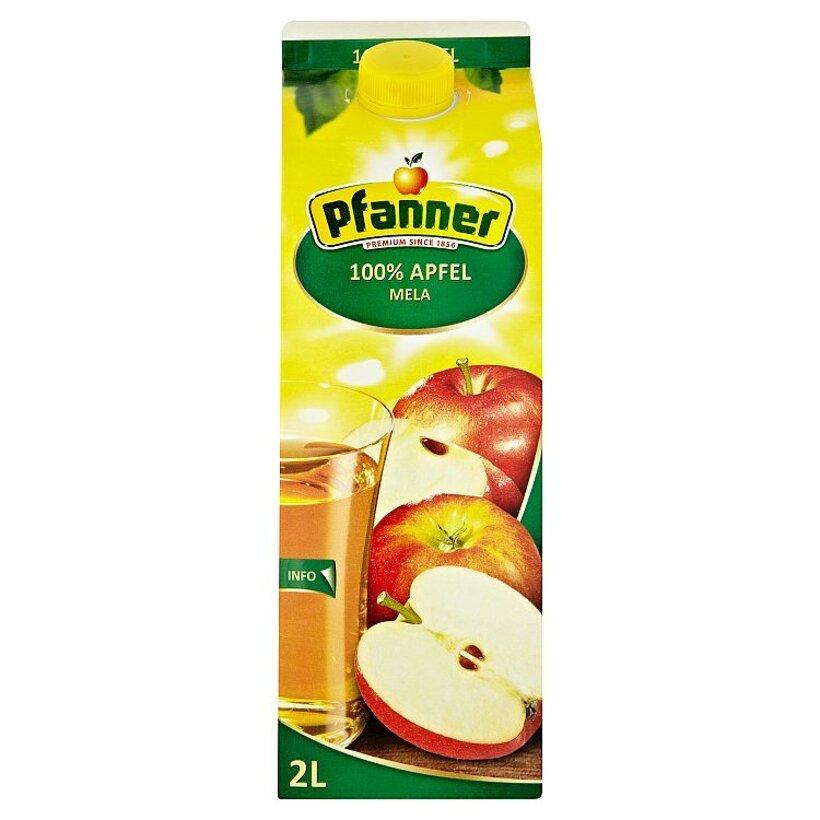 Pfanner 100% jablková šťava 2  l