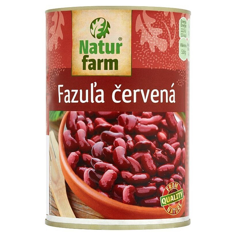 Natur Farm Fazuľa červená 400 g