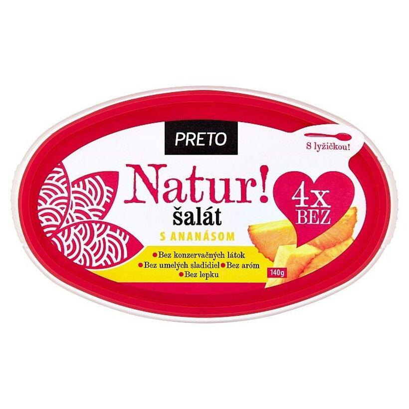 Ryba Žilina Preto Natur šalát s ananásom 140 g