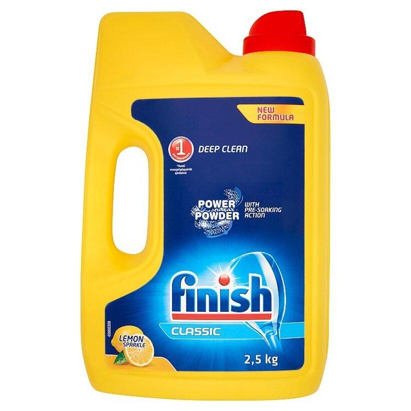 Finish Classic Lemon prášok do umývačky riadu 2,5 kg