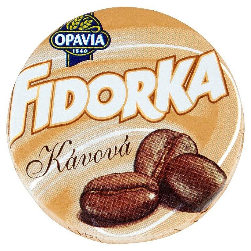 Opavia Fidorka Oblátka s kávovou náplňou v mliečnej čokoláde 30 g