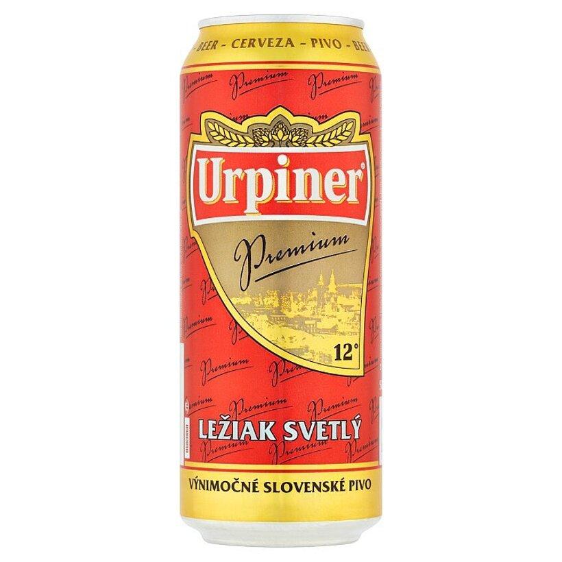 Urpiner Premium ležiak svetlý 500 ml