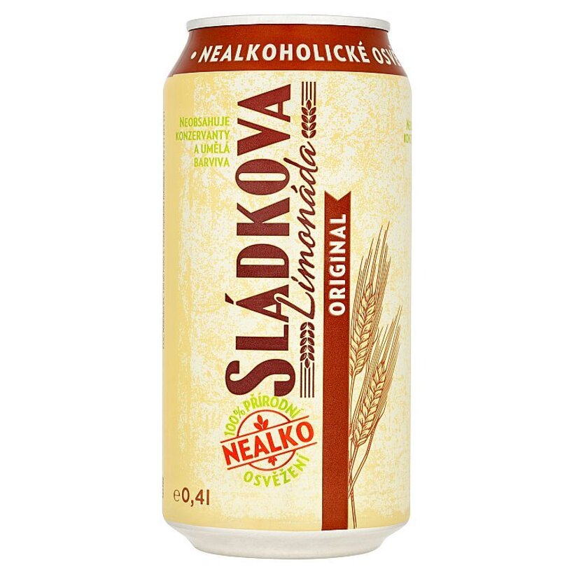 Staropramen Sládkova limonáda original 0,4 l
