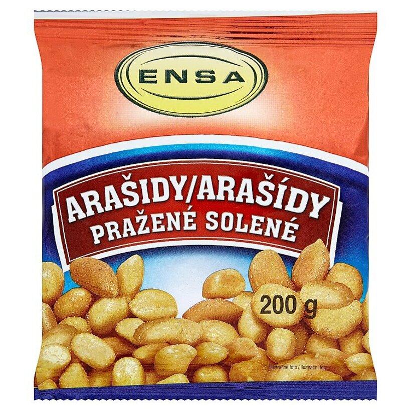 Ensa Arašidy pražené solené 200 g