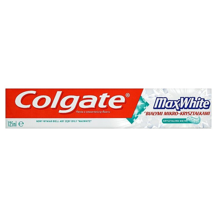 Colgate Max White Crystal mint zubná pasta 125 ml