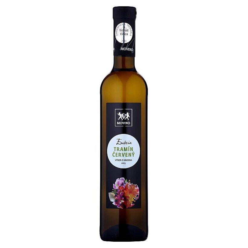 Movino Emócia Tramín červený výber z hrozna polosladké biele víno s prívlastkom 0,5 l