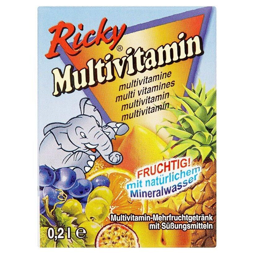 Ricky Multivitamín ovocný nápoj 0,2 l