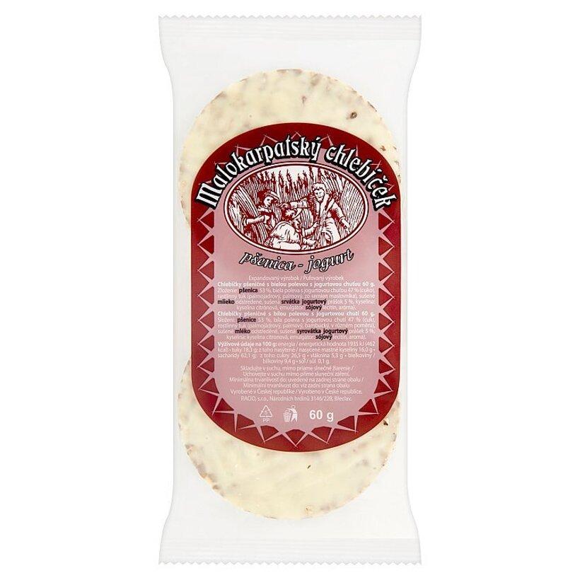 Malokarpatský chlebíček pšenica - jogurt 60 g
