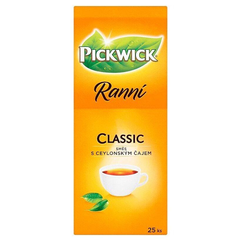 Pickwick Ranní Čierny čaj 25 x 1,75 g