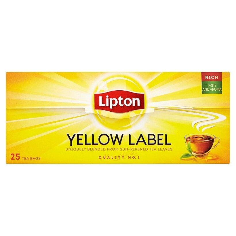 Lipton Yelow Label 25 vrecúšok 50 g