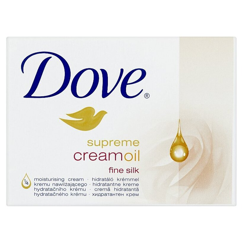 Dove Supreme Cream Oil krémová tableta na umývanie 100 g