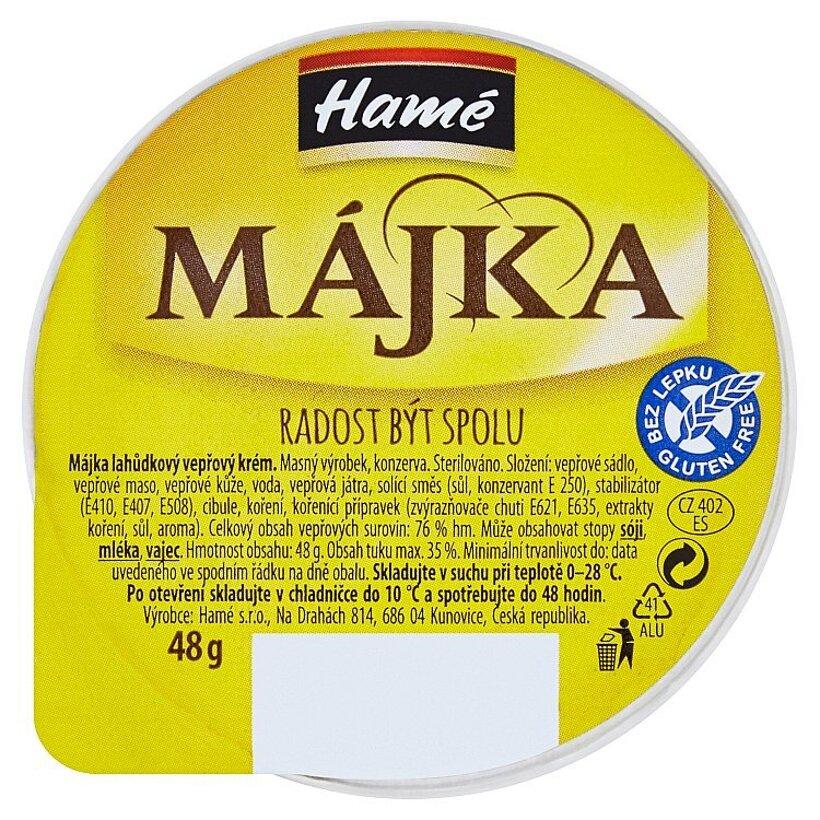 Hamé Májka Lahôdkový bravčový krém 48 g