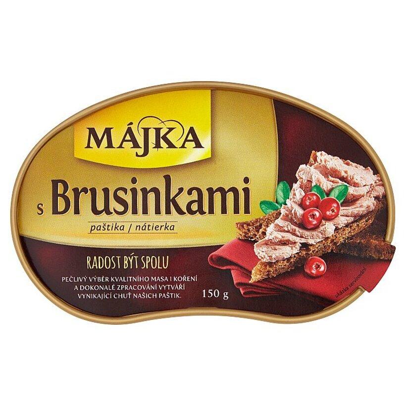 Májka Nátierka s brusnicami 150 g