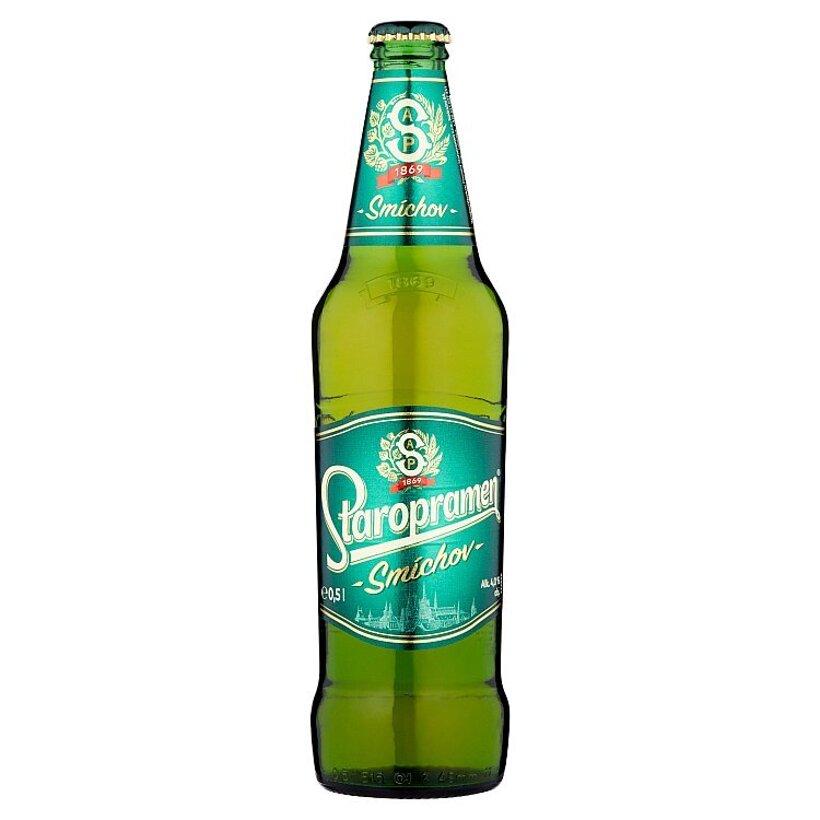 Staropramen Smíchov pivo výčapné svetlé 0,5 l