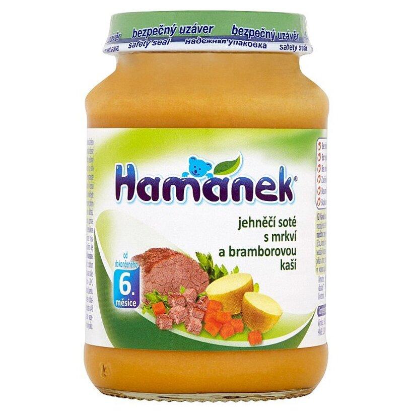 Hamánek Jahňacie soté s mrkvou a zemiakovou kašou 190 g