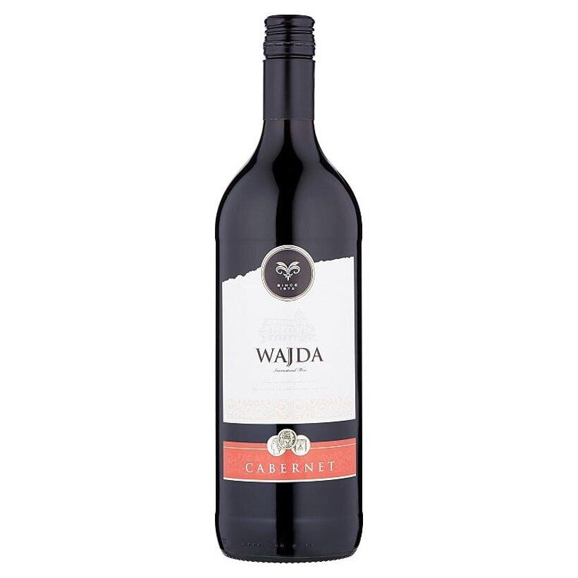Wajda Cabernet víno červené suché 1 l