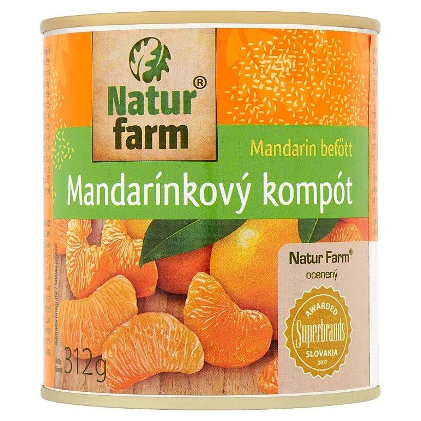 Natur Farm Mandarínkový kompót 312 g