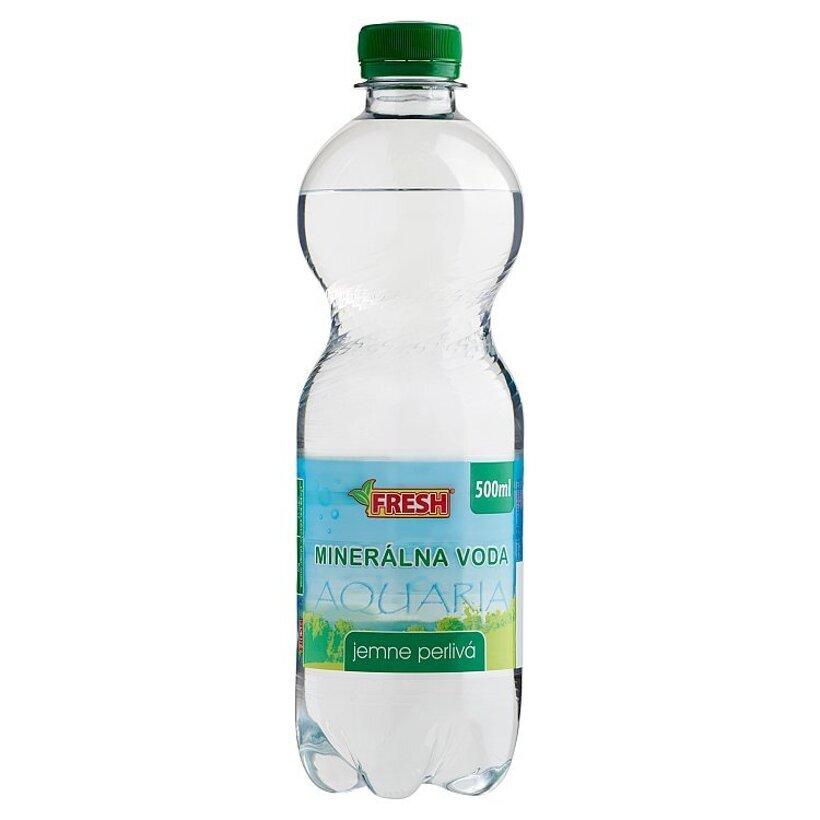 Fresh Minerálna voda jemne perlivá 500 ml