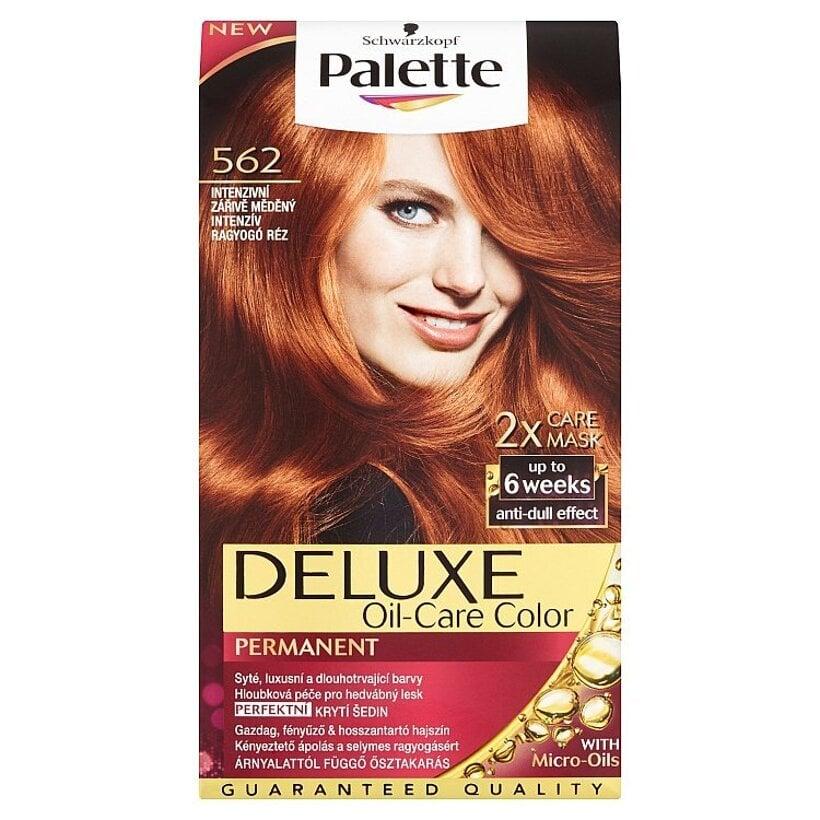 Schwarzkopf Palette Deluxe farba na vlasy Intenzívny Žiarivomedený 562